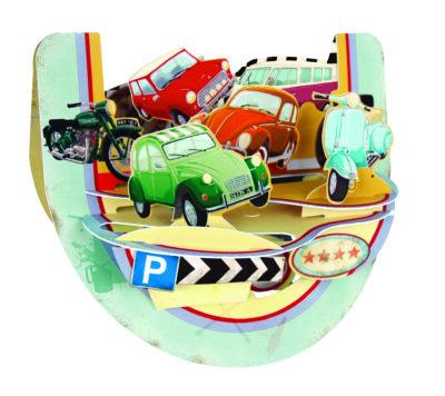 PR042 Retro Vehicles – Front HR