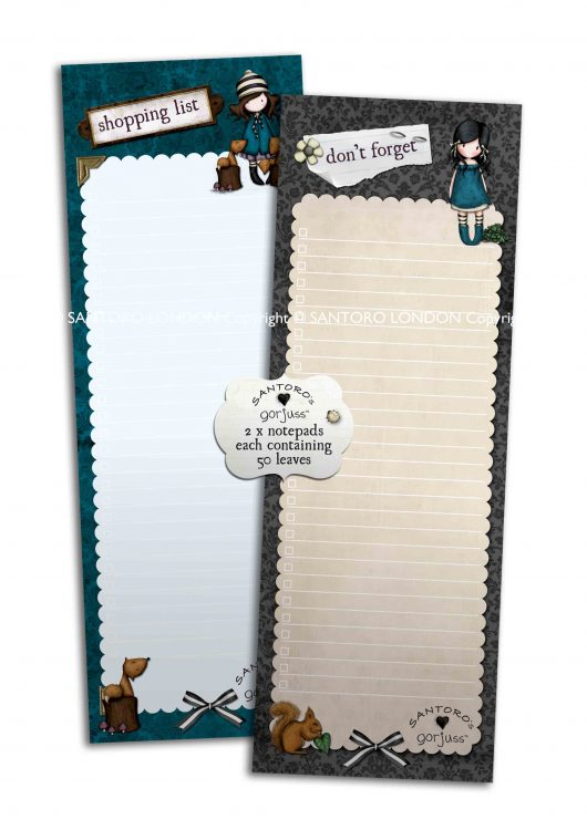267GJ02 Shopper Pad – The Foxes WM