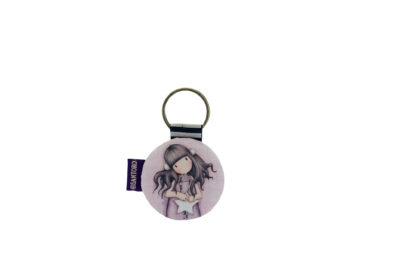 332GJ05 – Circular Keyring – All These Words – Front – WEB