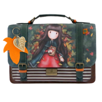 1025GJ01 Gorjuss Large Satchel Autumn Leaves 2_HR