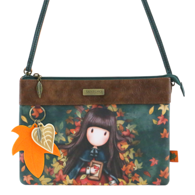 1027GJ01 Gorjuss Double Pouch Cross Body Bag Autumn Leaves 1_HR