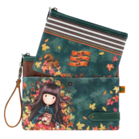 1029GJ01 Gorjuss Double Pouch Accessory Case Autumn Leaves 2_HR