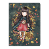 1033GJ01 Gorjuss A4 PVC Cover Notebook Autumn Leaves 1_HR
