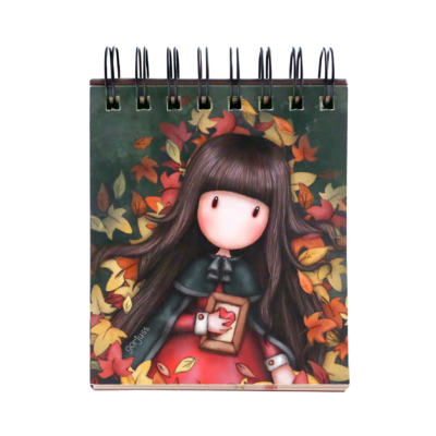 1035GJ01 Gorjuss Standing Memo Pad 2020 Autumn Leaves 1_HR