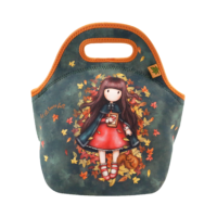 519GJ13 Gorjuss Neoprene Lunch Bag Autumn Leaves 1_HR