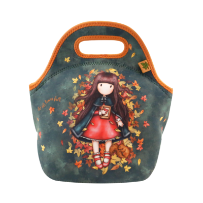 519GJ13 Gorjuss Neoprene Lunch Bag Autumn Leaves 1_HR
