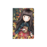 808GJ08 Gorjuss A6 PVC Notebook Autumn Leaves 1_HR