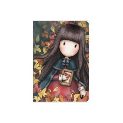 808GJ08 Gorjuss A6 PVC Notebook Autumn Leaves 1_HR