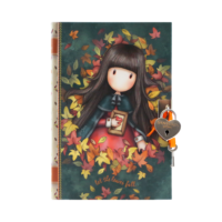 815GJ05 Gorjuss Lockable Journal Autumn Leaves 1_HR