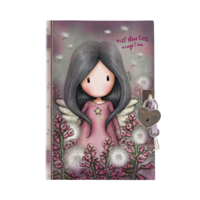 815GJ06 Gorjuss Lockable Journal Little Wings 1_HR
