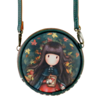 907GJ04 Gorjuss Mini Round Bag Autumn Leaves 1_HR