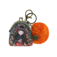 919GJ04 Gorjuss Keyring Clasp Purse Autumn Leaves 1_HR