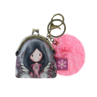 919GJ05 Gorjuss Keyring Clasp Purse Little Wings 1_HR