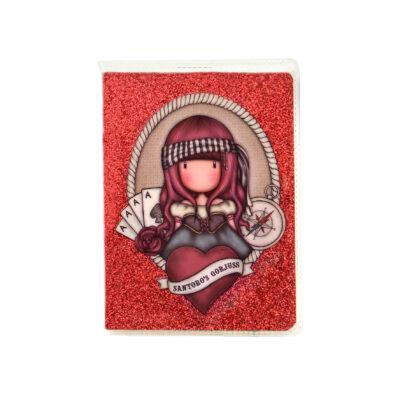 mini cuderno, mini libreta, notebook, santoro london, gorjuss, Mary Rose, 843GJ09 , a