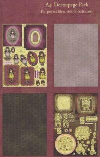 B Set decoupage Lima Perú Santoro Gorjuss GOR 169123