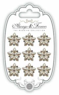 perlas de flores, adhesivas, decoración, Lima, Perú, Craft consortium, ARCHRM022