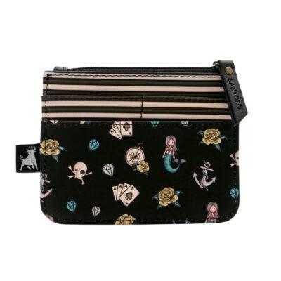 Monedero, santoro london, gorjuss, black pearl, 1073GJ01, b