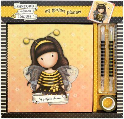 agenda, santoro london, gorjuss, bee loved, 857GJ02, a