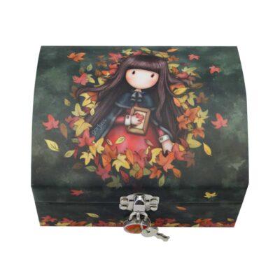 cofre, joyero, caja de accesorios, santoro, gorjuss, autumn leaves, 701GJ08, a