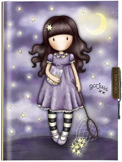 diario, libreta, santoro london, gorjuss, catch a falling stars, 577GJ15, a