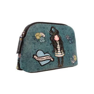 estuche de accesorios, neceser, portatodo, santoro london, gorjuss, black pearl, 1077GJ01, b