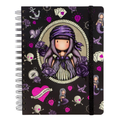 cuaderno, libreta, notebook, cuaderno anillado, santoro london, gorjuss, Sea Nixie, 767GJ06, a