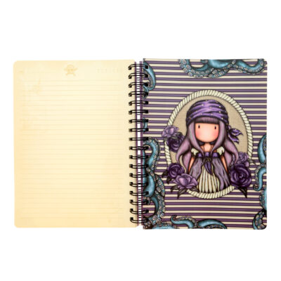 cuaderno, libreta, notebook, cuaderno anillado, santoro london, gorjuss, Sea Nixie, 767GJ06, b