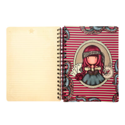 cuaderno, libreta, notebook, cuaderno anillado, santoro london, gorjuss, mary rose, 767GJ05, b