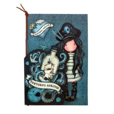 cuadernos, libretas, set de cuadernos, santoro london, gorjuss, Black Pearl, 1063GJ02, a