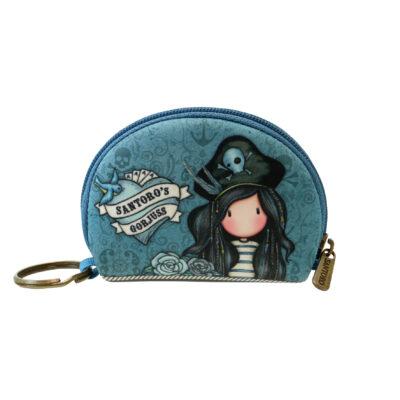 monedero, mini monedero, santoro london, gorjuss, Black Pearl, 369GJ36, a