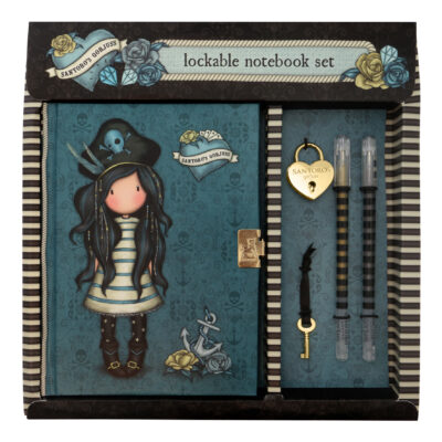 set de diario, journal, Black Pearl, 522GJ07, a